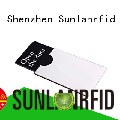 Sunlanrfid key card manufacturer for opening door