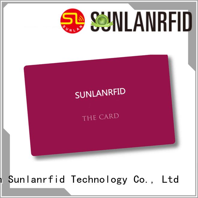 Sunlanrfid monze contactless smart card series for parking