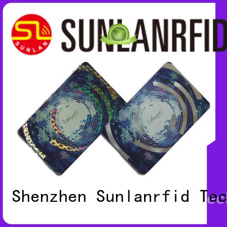 Sunlanrfid higgs parking scratch cards card for transportation