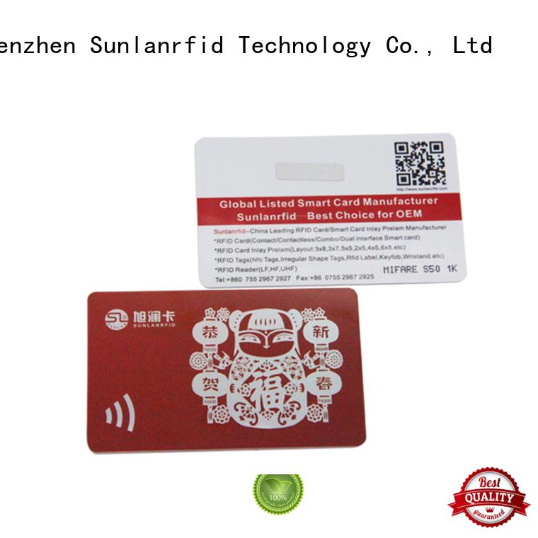 icode rfid smart card mifare factory Sunlanrfid