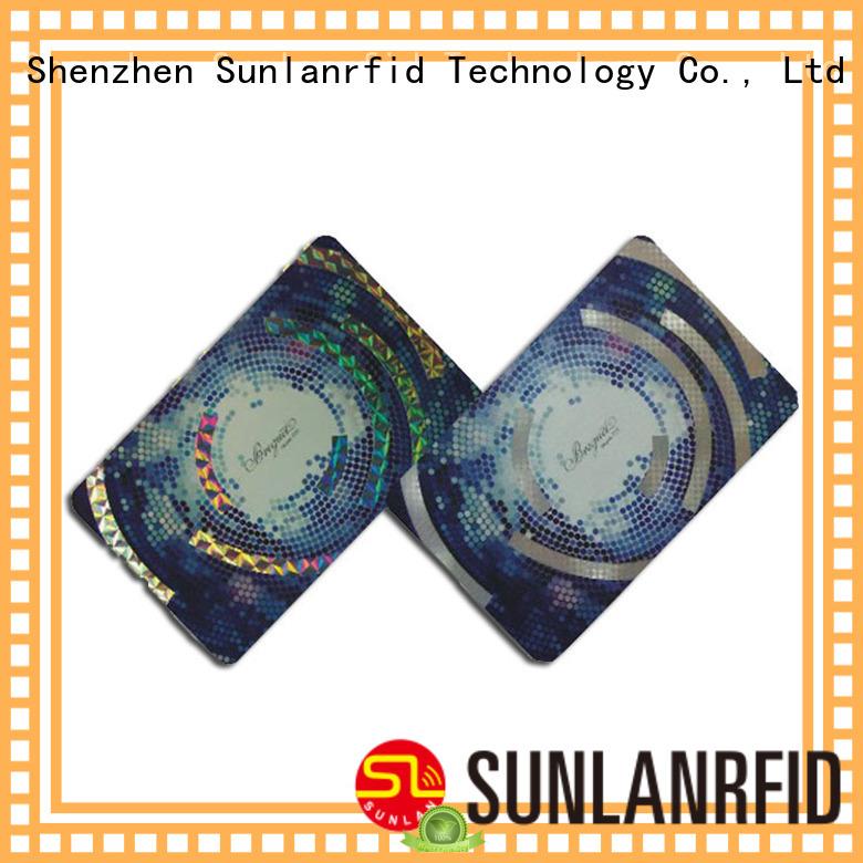 Sunlanrfid alien parkingcard production for shopping Center