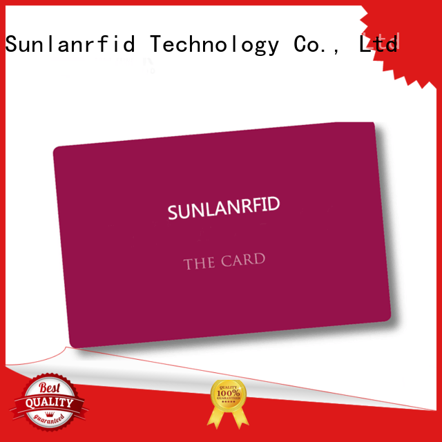 id card format sli for daily life Sunlanrfid