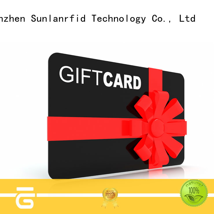 Sunlanrfid loyalty best loyalty cards supplier for shopping Center