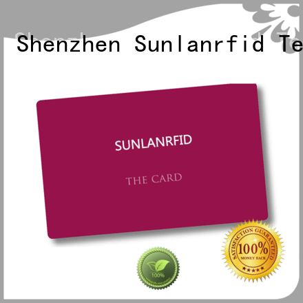 Sunlanrfid quality student id card series for transportation