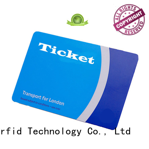 Sunlanrfid metro smart bus card transportation factory