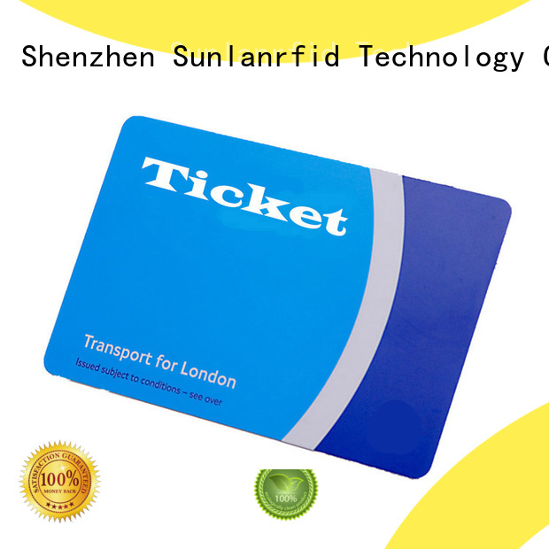 Sunlanrfid or telefono ticket car series for parking