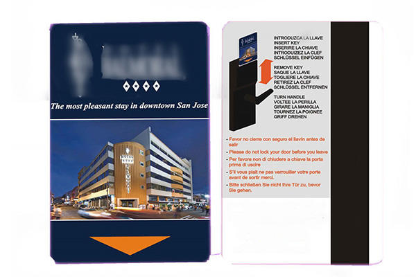 Sunlanrfid metropolitan police hotel key cards series for opening door-2