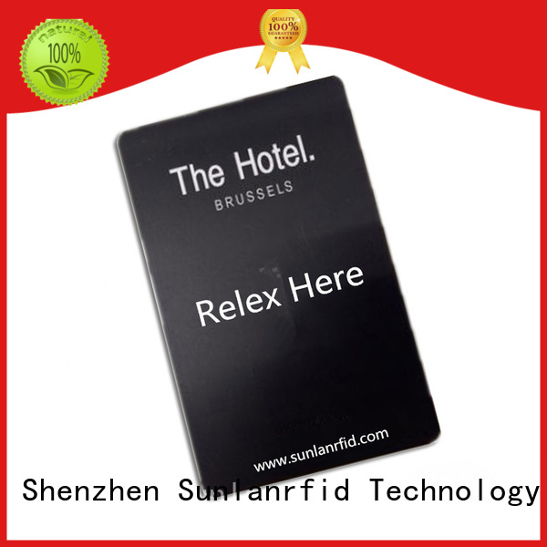 Sunlanrfid online hotel room card wholesale for hotel