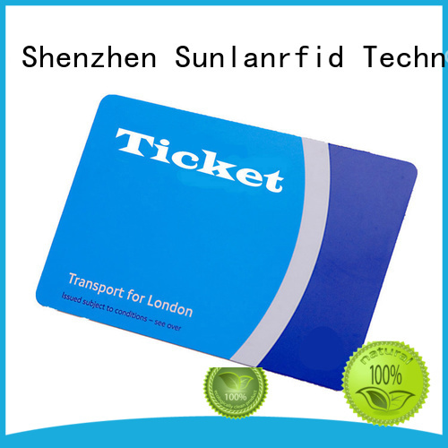 Custom luas bus ticket ultralight Suppliers for access control