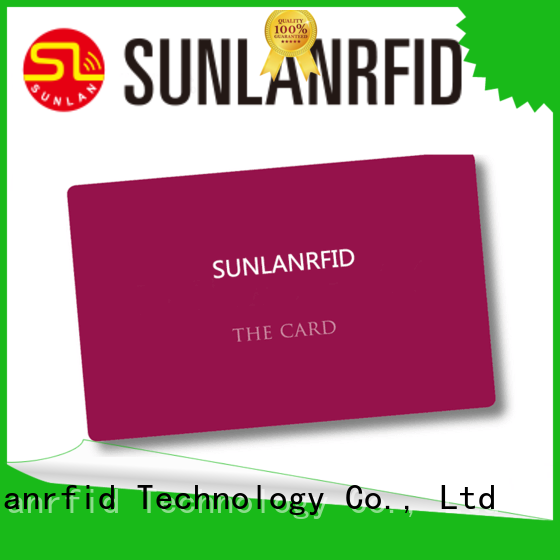 Sunlanrfid durable nyc parking cards series for parking